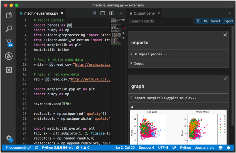 Data Science in Visual Studio Code using Neuron, a new VS Code